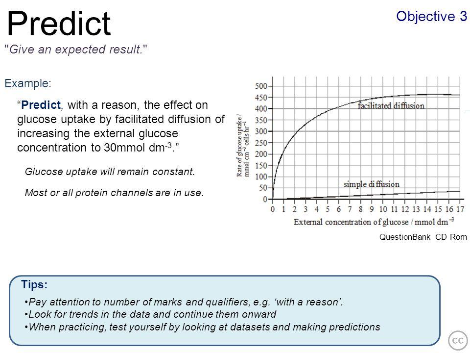 Objective 3 Predict