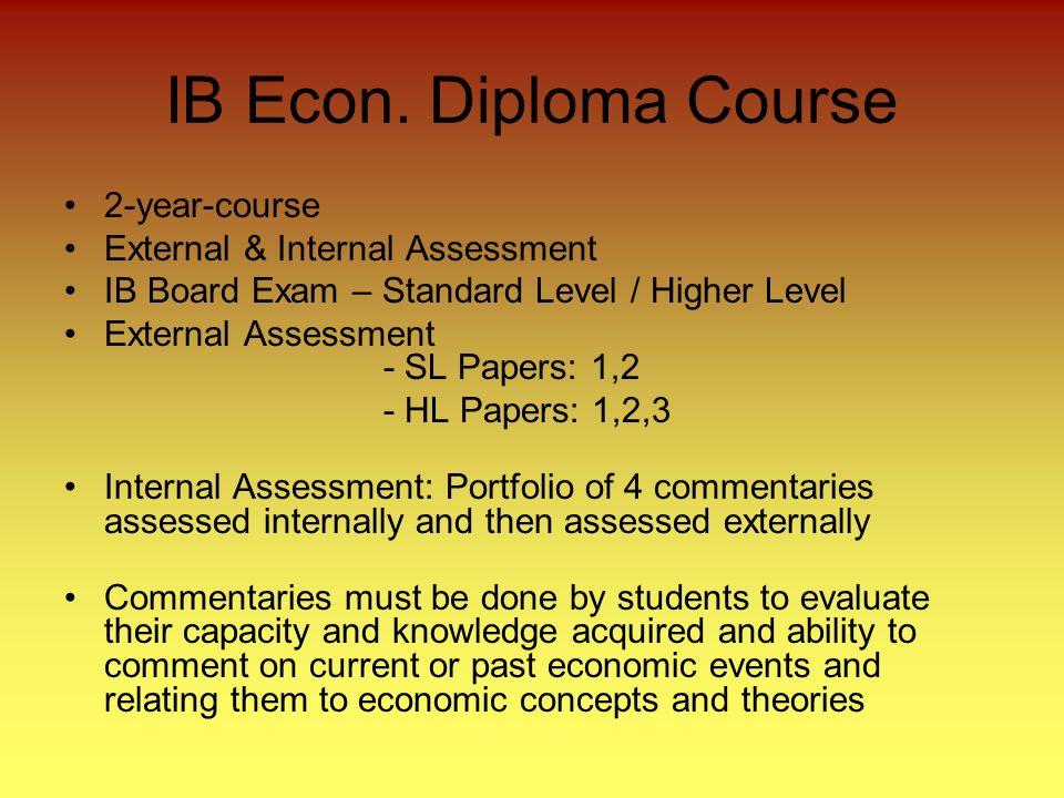 IB Econ.
