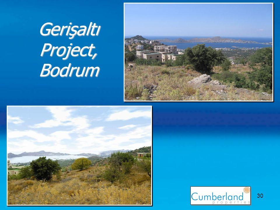 30 Gerişaltı Project, Bodrum