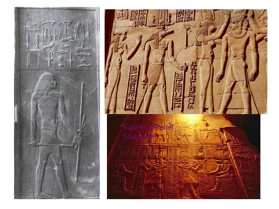 Figures in Relief Sculpture