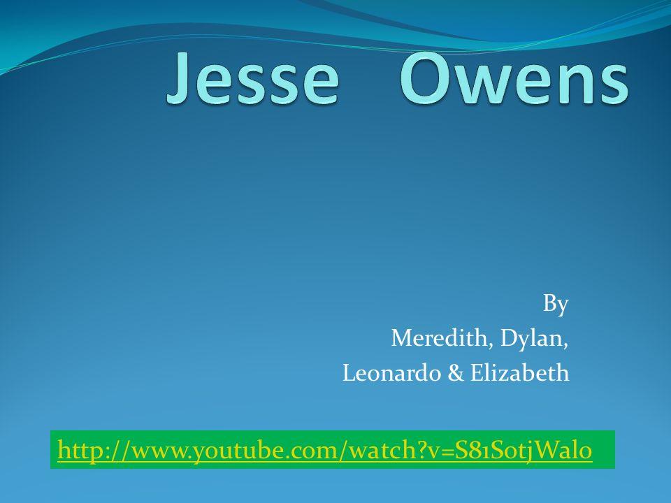 By Meredith, Dylan, Leonardo & Elizabeth http://www.youtube.com/watch?v=S81SotjWal0