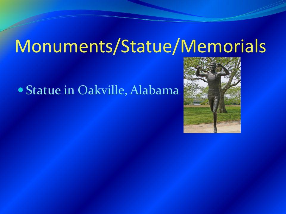 Monuments/Statue/Memorials Statue in Oakville, Alabama