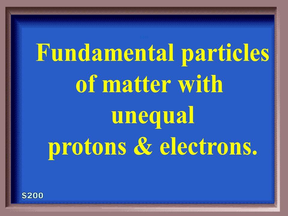 1-100A 1 - 100 Atoms