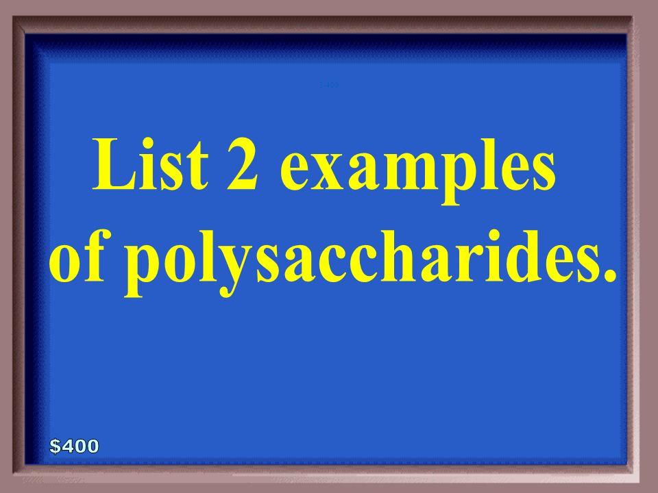3-300A 1 - 100 Sucrose Lactose Maltose