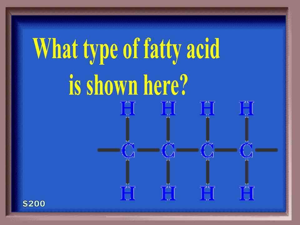 4-100A 1 - 100 3 Fatty acids Glycerol