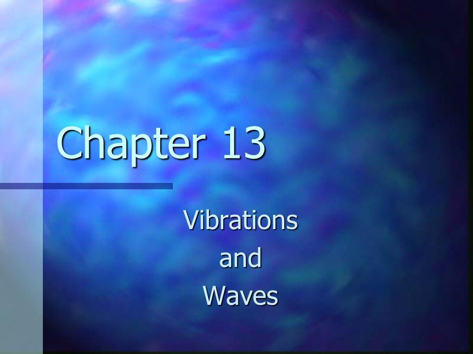 Chapter 13 VibrationsandWaves