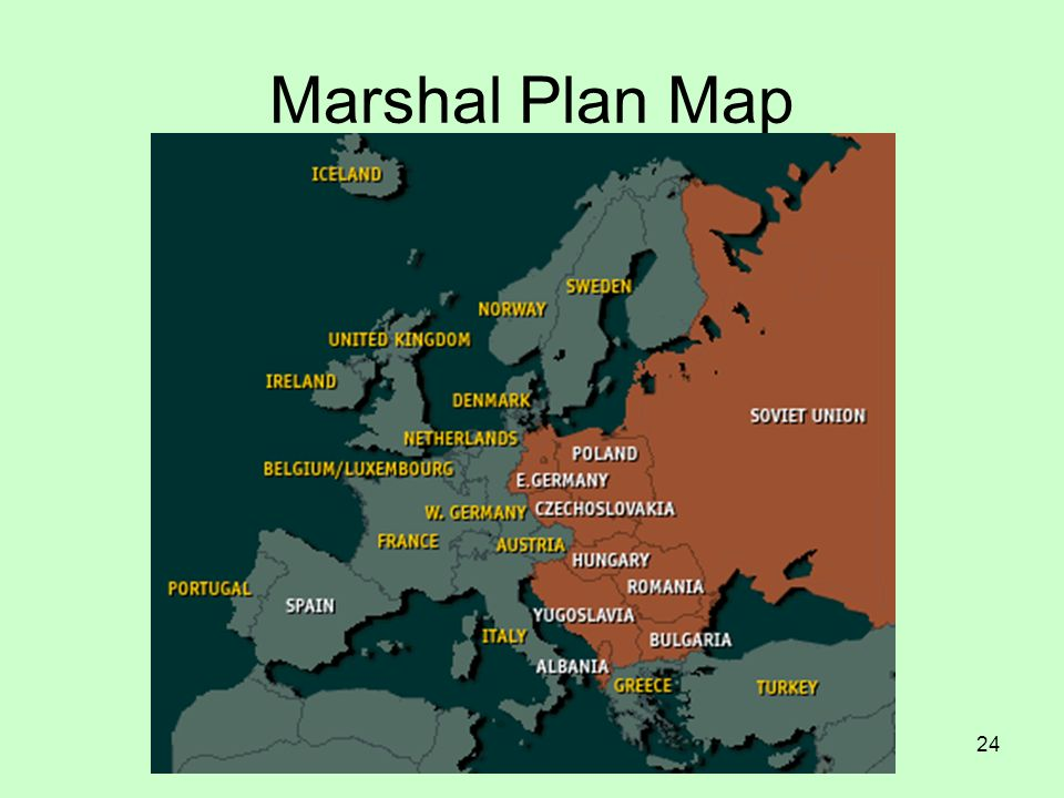 24 Marshal Plan Map