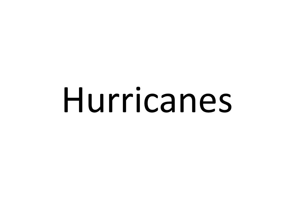 Activity 1 Using Advanced Geography P170-172, answer the following questions… 1.What conditions are needed for hurricanes to develop.