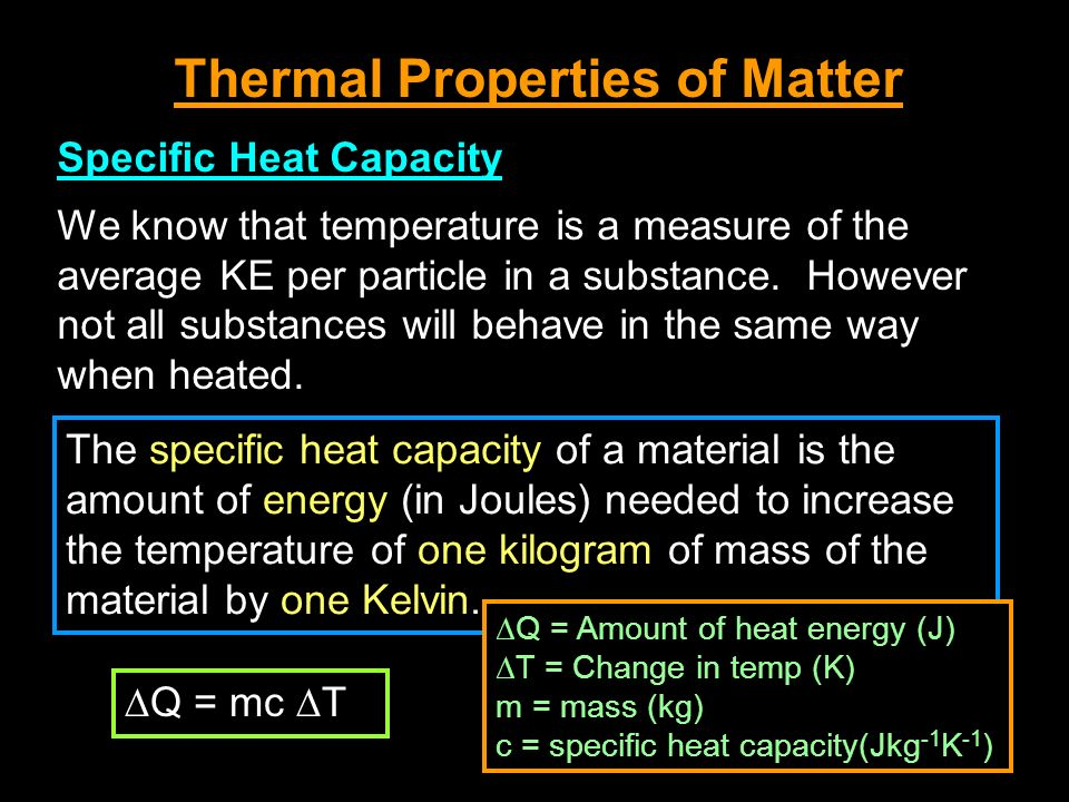 Note: Sources of error… i.Heat from air will also melt ice use control ii.