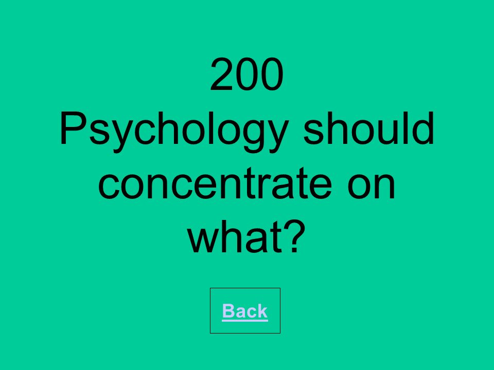 200 In operant conditioning, bar pressing behaviour that is not ___ will undergo extinction. Back