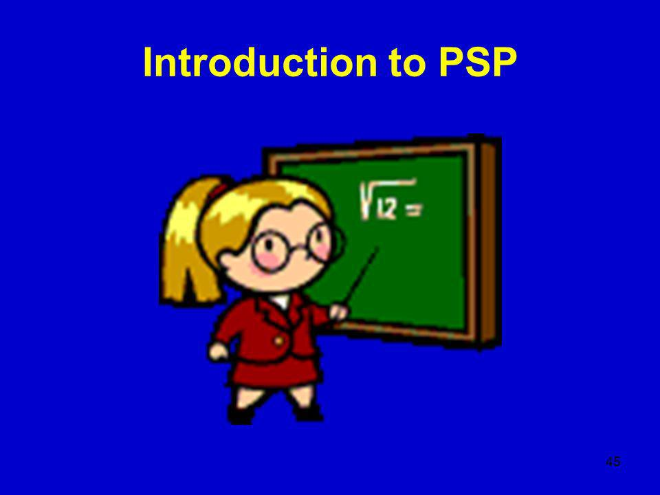 45 Introduction to PSP