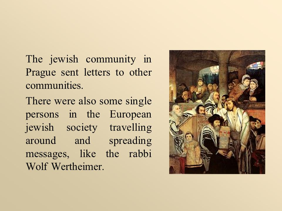 The protestant minority in Thorn also used flyers to spread their religious ideas and political demands.
