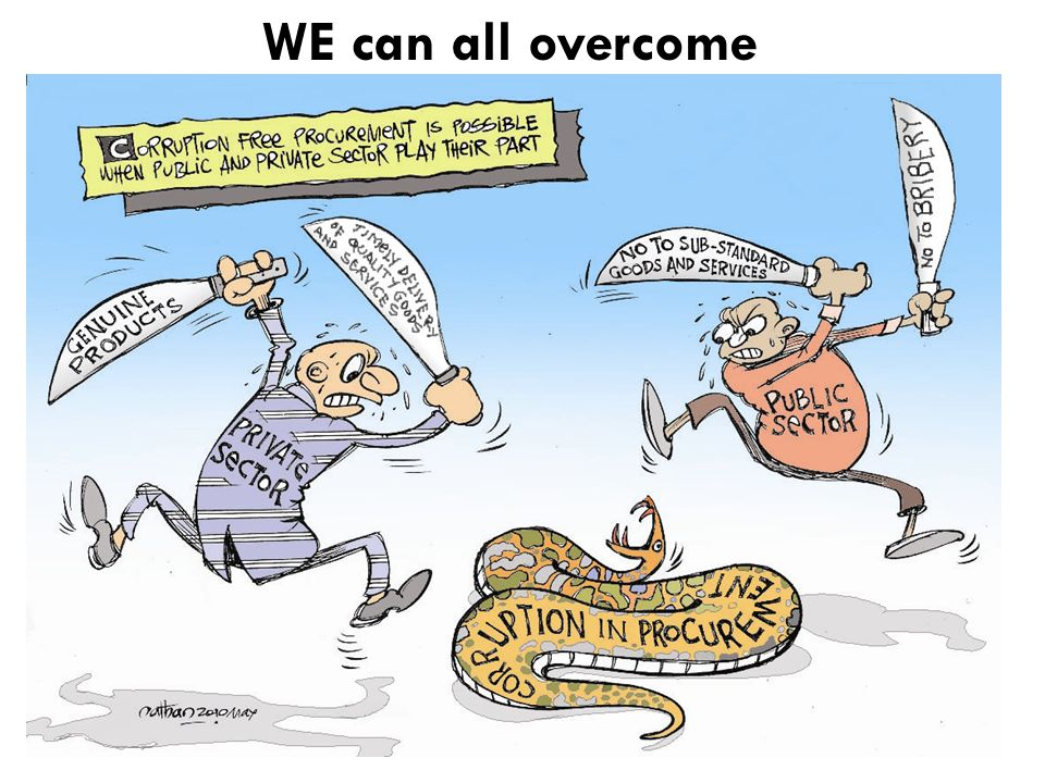 WE can all overcome