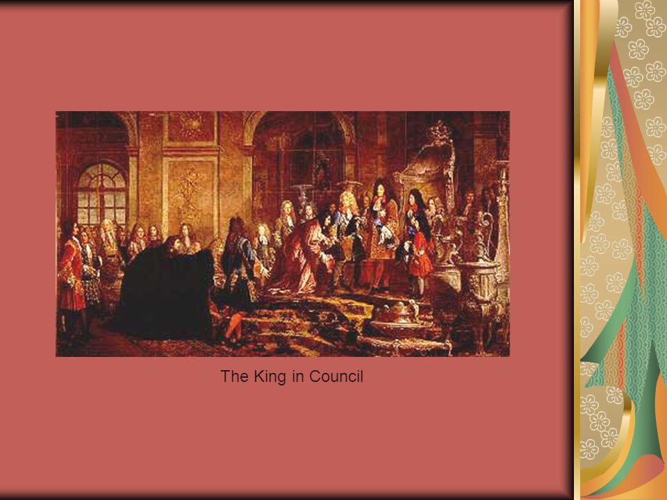 The King in Council