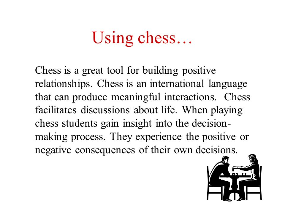 During the chess game in the Journal Mentor creates specific chess puzzles and relates them with their life issues.