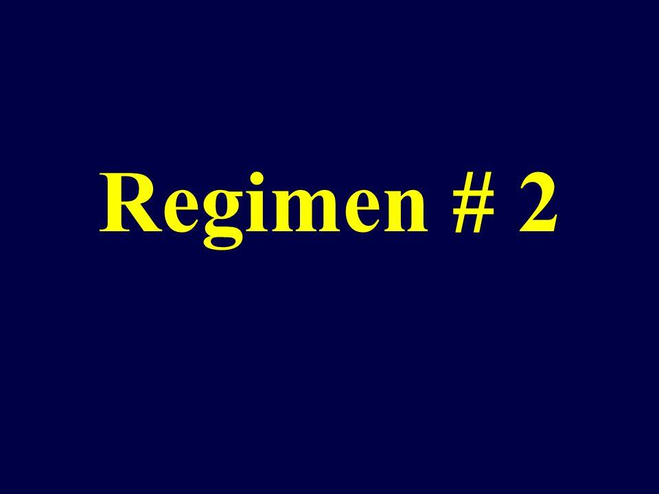Regimen # 2