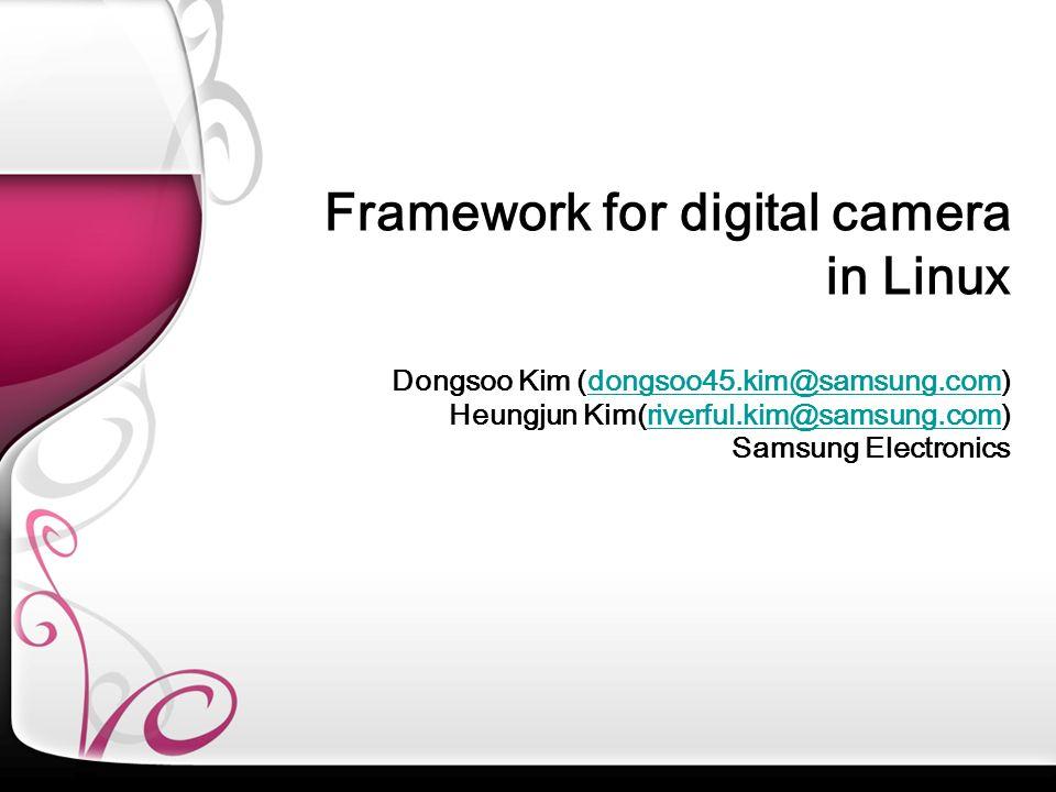 Dongsoo Kim (dongsoo45.kim@samsung.com)dongsoo45.kim@samsung.com Heungjun Kim(riverful.kim@samsung.com) Samsung Electronicsriverful.kim@samsung.com