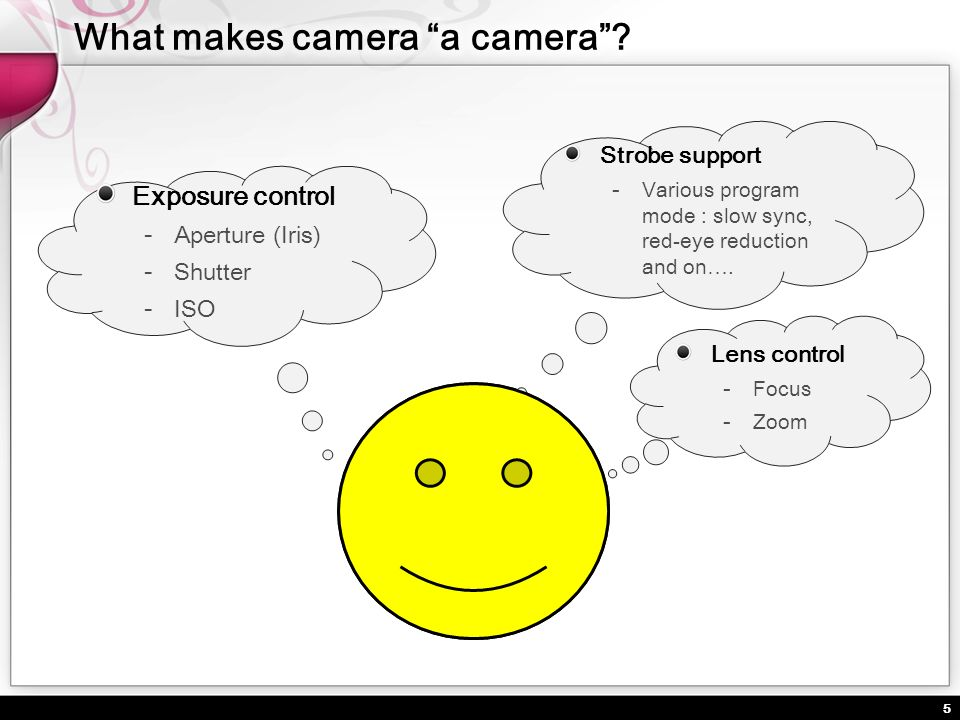 6 Introducing mobile camera devices