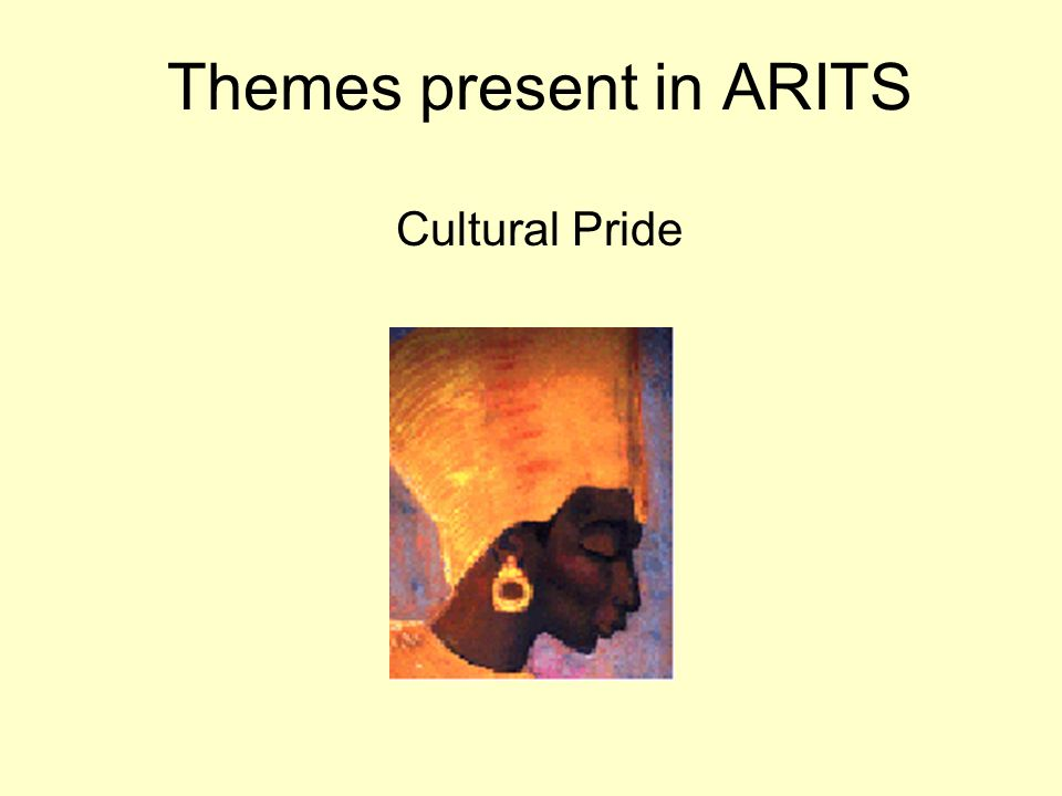 Themes present in ARITS Cultural Pride