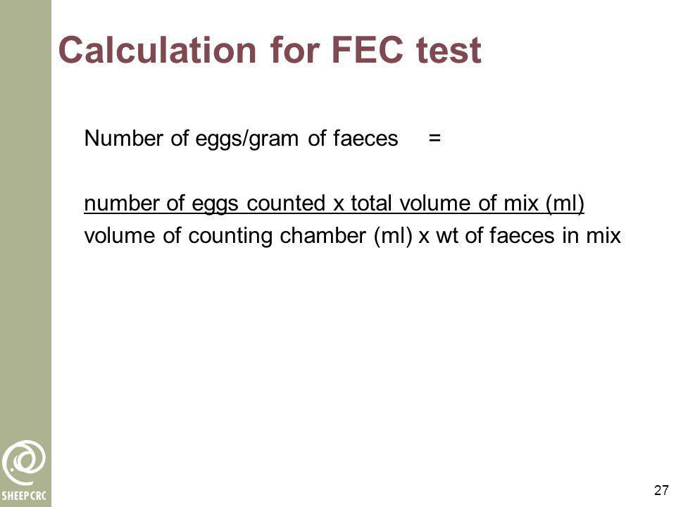 28 Interpretation of FEC test results www.wormboss.com.au Click on Ask the Boss and read Click on Consult the Boss and follow the prompts A report will be generated based on the information you enter