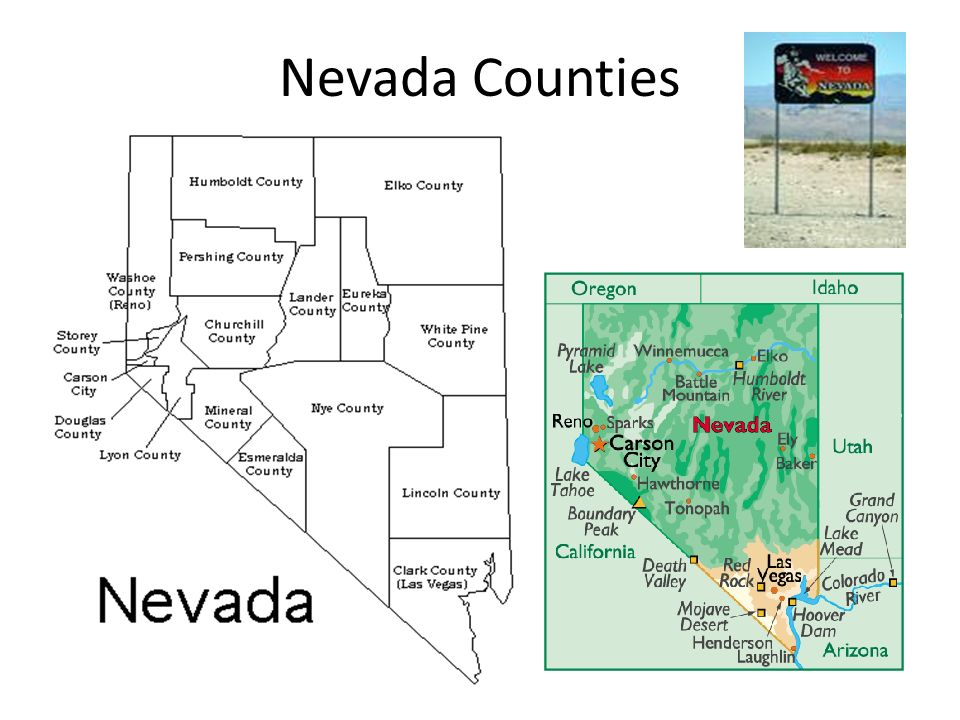 Nevada Counties