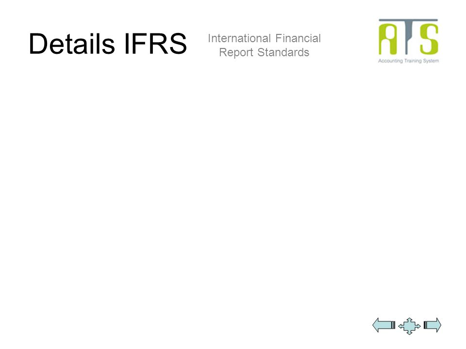 Details IFRS International Financial Report Standards