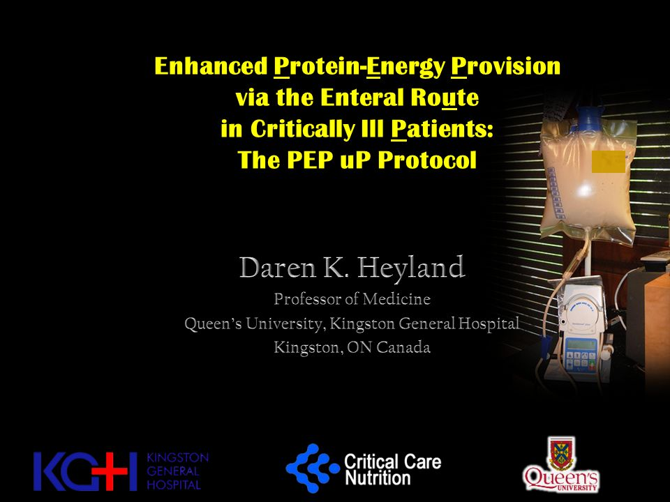 Enhanced Protein-Energy Provision via the Enteral Route in Critically Ill Patients: The PEP uP Protocol