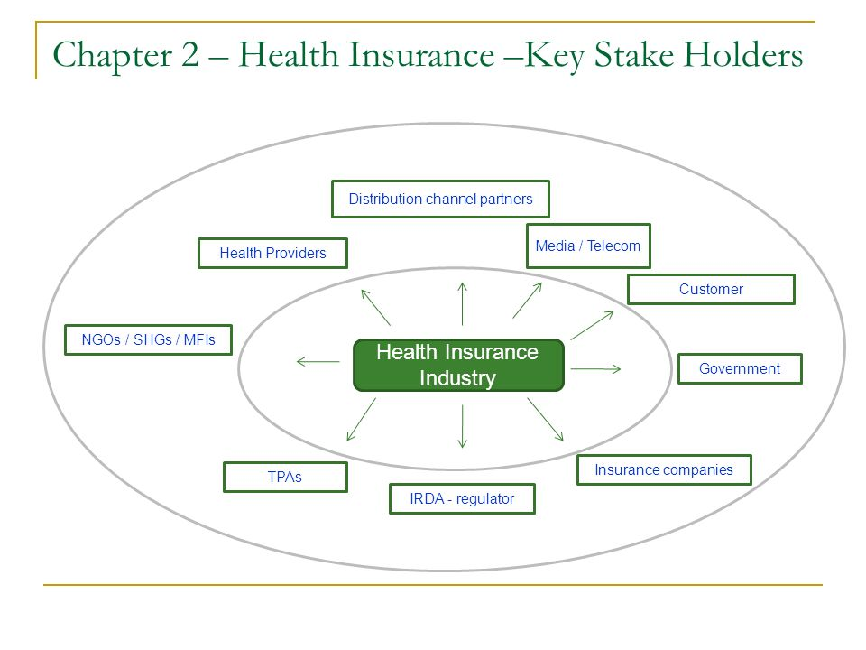 Chapter 2 – Health Insurance – Plans Health Insurance Plans PrivateSocial Community Based / Micro Insurance