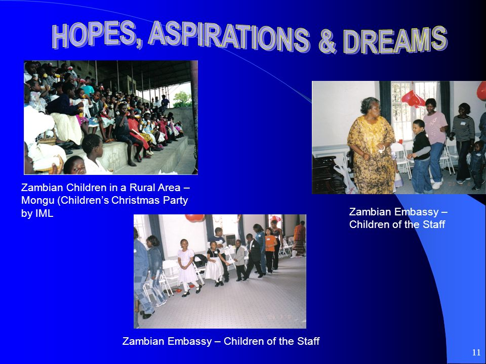 11 Zambian Children in a Rural Area – Mongu (Childrens Christmas Party by IML Zambian Embassy – Children of the Staff