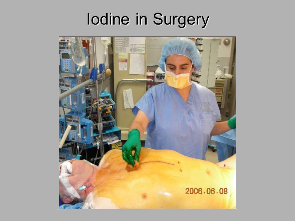 Iodine in Surgery