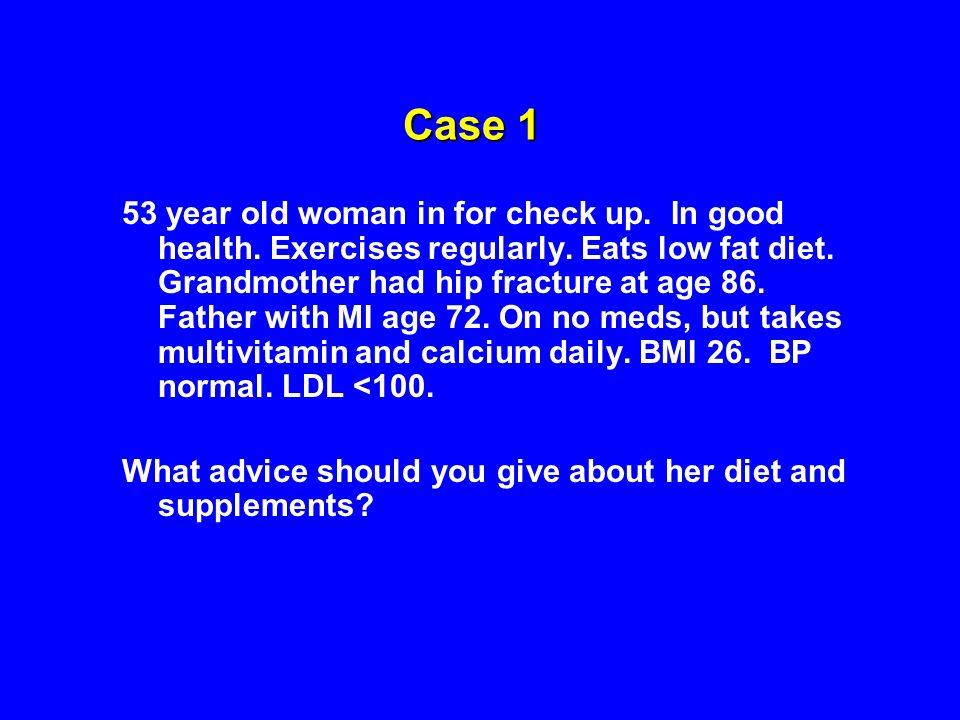 Lee, JAMA, 2006 VITAMIN E AND CARDIOVASCULAR DISEASE AND CANCER Womens Health Study, Vitamin E 600 IU QOD vs placebo 39,876 subjects, over 45 years old, 10.1 yrs f/u Vitamin E Placebo p CV event482517 0.26 MI1961950.96 Stroke2412460.82 CV deaths106140 0.03 Invasive cancer143714280.87 Total mortality636615 0.53
