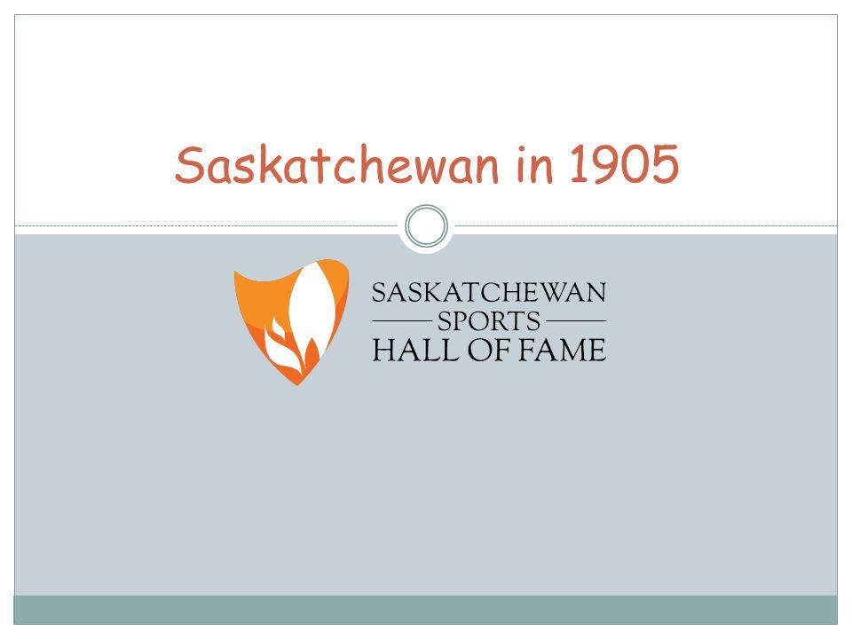 Saskatchewan in 1905