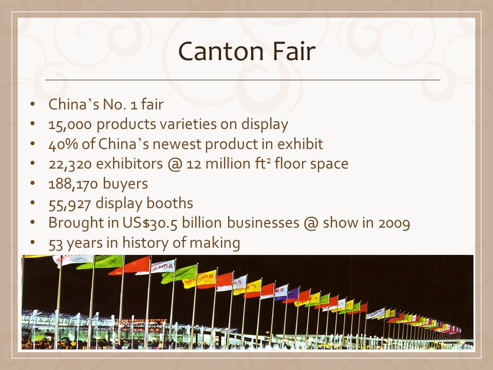 Canton Fair China s No.