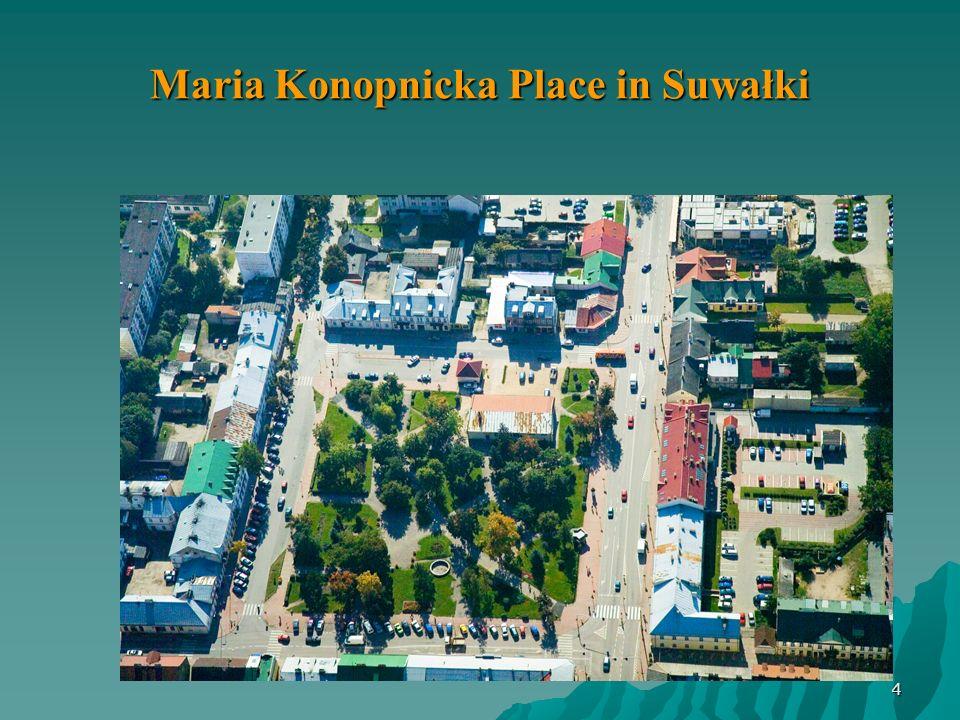 Maria Konopnicka Place in Suwałki 4