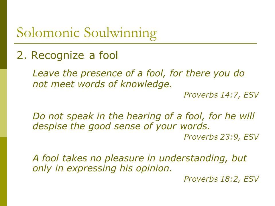 Solomonic Soulwinning 2.