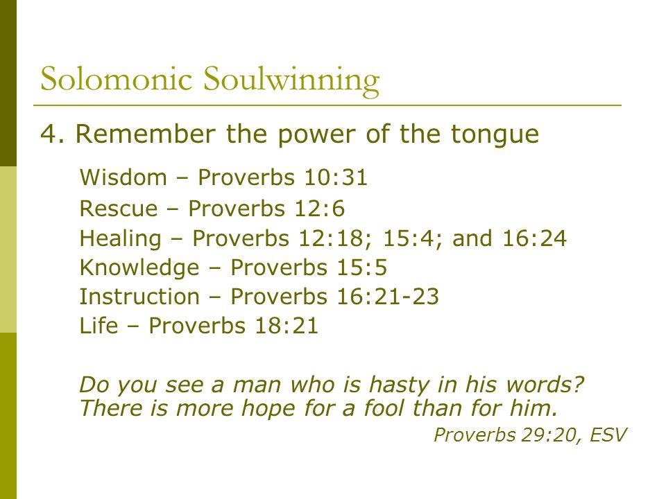 Solomonic Soulwinning 4.