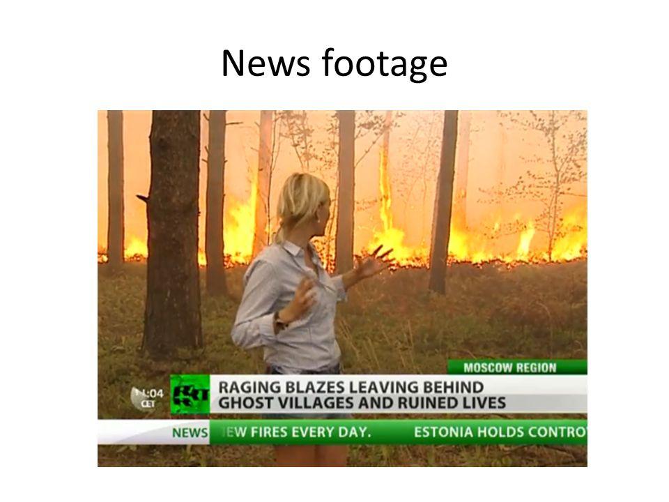 News footage
