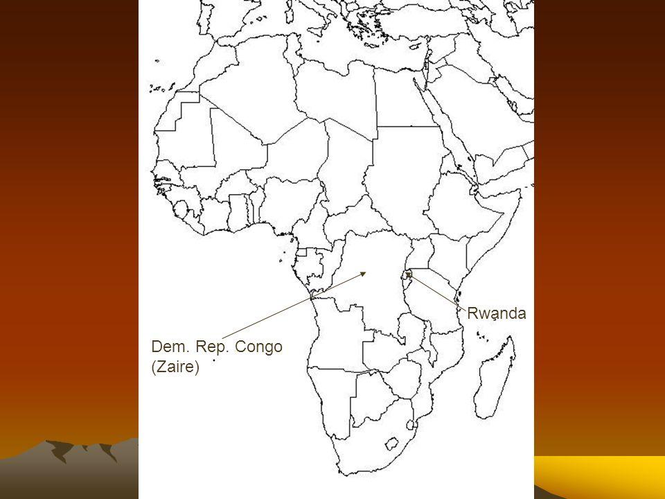 Rwanda Dem. Rep. Congo (Zaire)