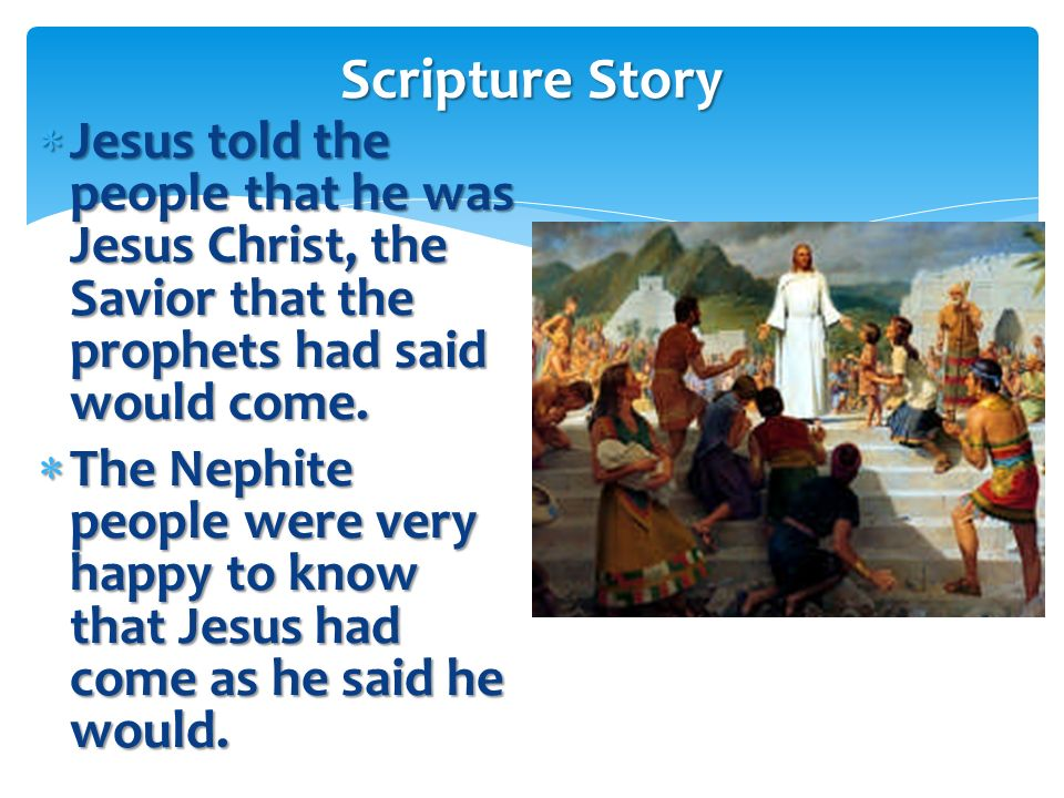 Lets read 3 Nephi 11:9–10. Lets read 3 Nephi 11:9–10.3 Nephi 11:9–103 Nephi 11:9–10 9 And it came to pass that he stretched forth his hand and spake u