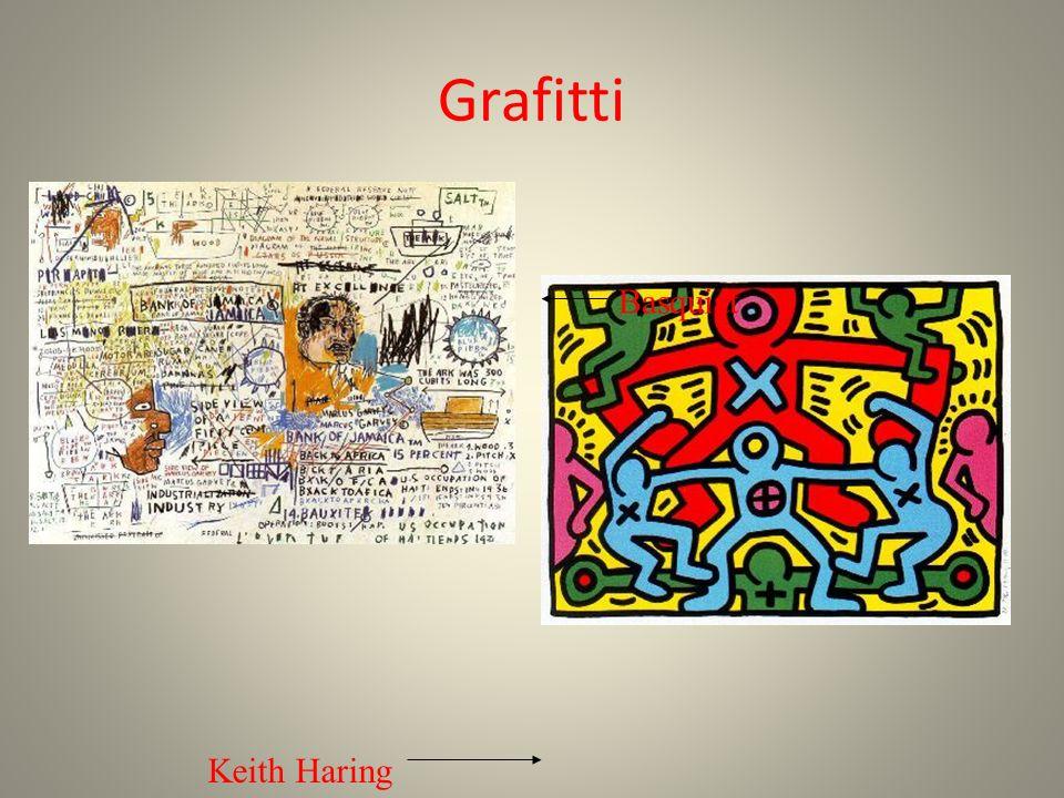 Grafitti Basquiat Keith Haring