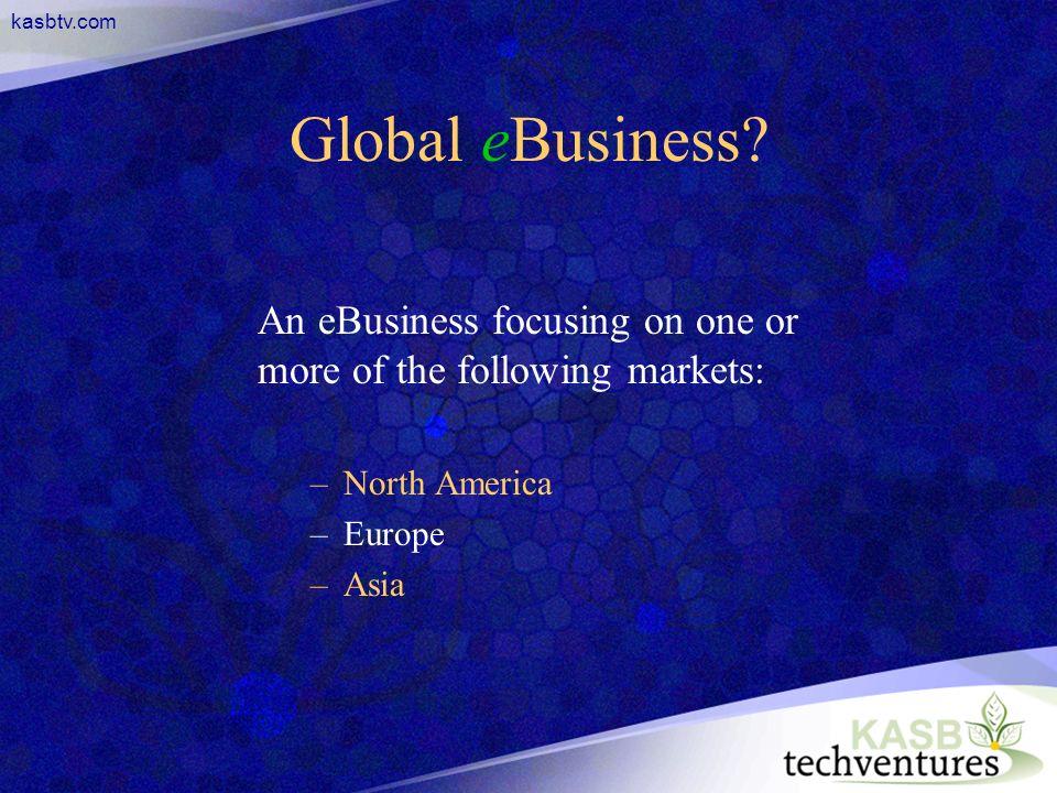 kasbtv.com Global eBusiness.