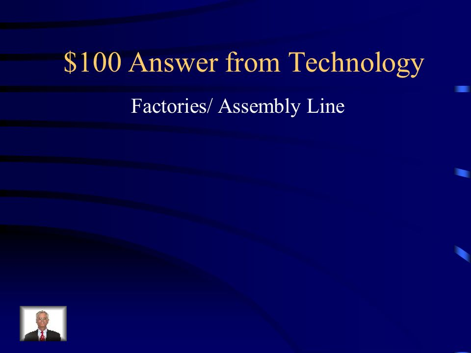$100 Question from Technology What new technology drew so many people to cities?