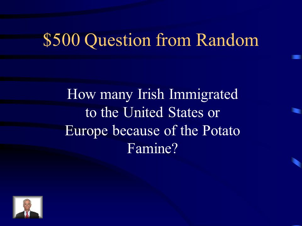 $400 Answer from Random Answers Will Vary