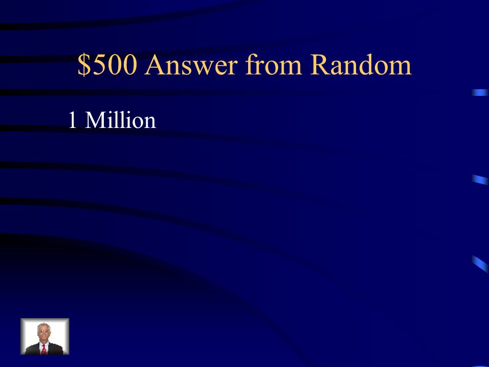 $500 Question from Random How many Irish Immigrated to the United States or Europe because of the Potato Famine?