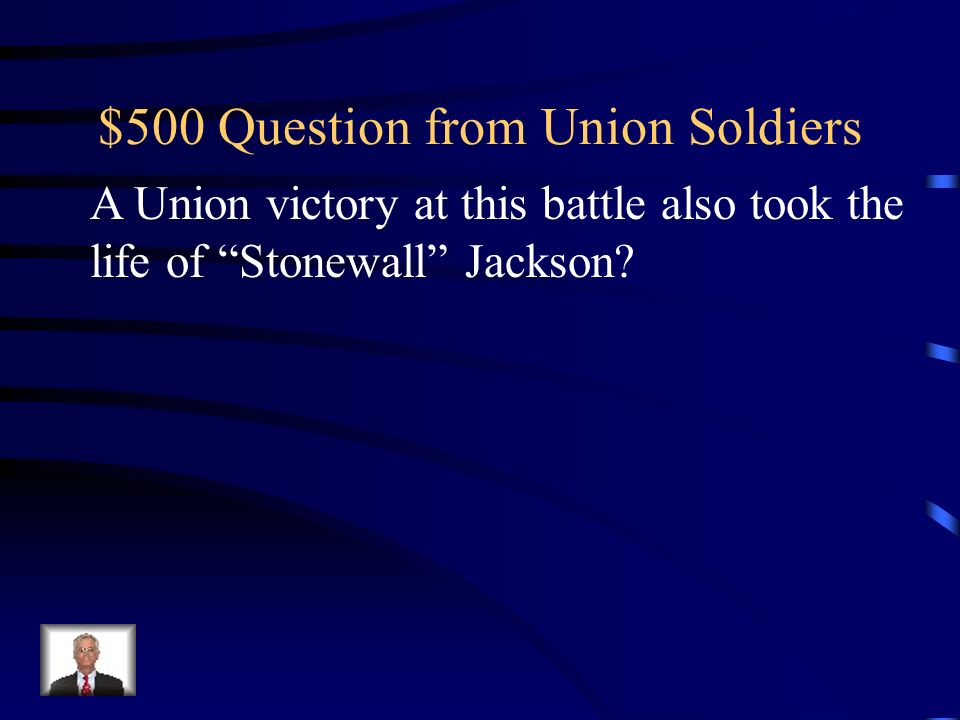 $400 Answer from Union Soldiers Who is General Ambrose Burnside?