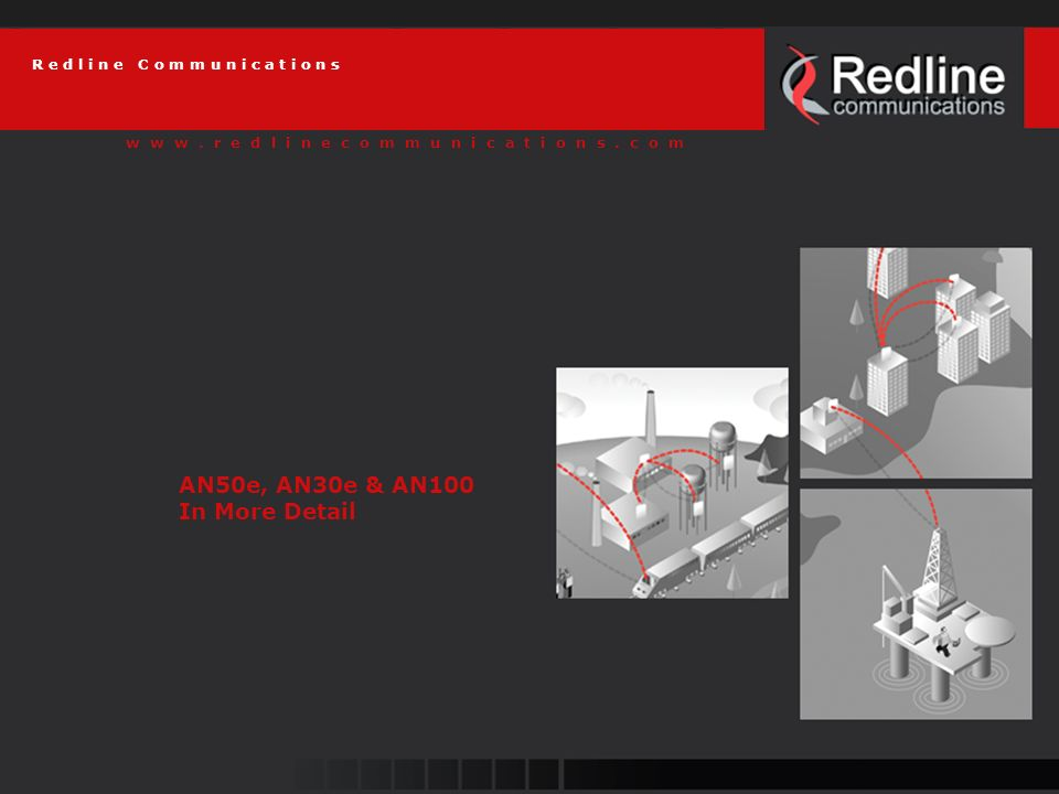 52 Redline Communications AN-100: First 802.16 BFWA Solution Carrier class 256 sub-carrier OFDM system @ 3.5 GHz Wimax conformant in 2-11 GHz band --802.16 PMP design Can be deployed in PTP configuration Data, voice and video on one platform 3.4 – 3.5 GHz Dynamic TDD 3.5/7/14MHz 3.4 – 3.6 GHz HD FDD on 7/14 MHz Channel 3.6 – 3.8Hz to be released soon 250 KHz Center frequency resolution Max 23 dBm Tx power in SC and 16 dBm on SS Synchronization for improved frequency reuse