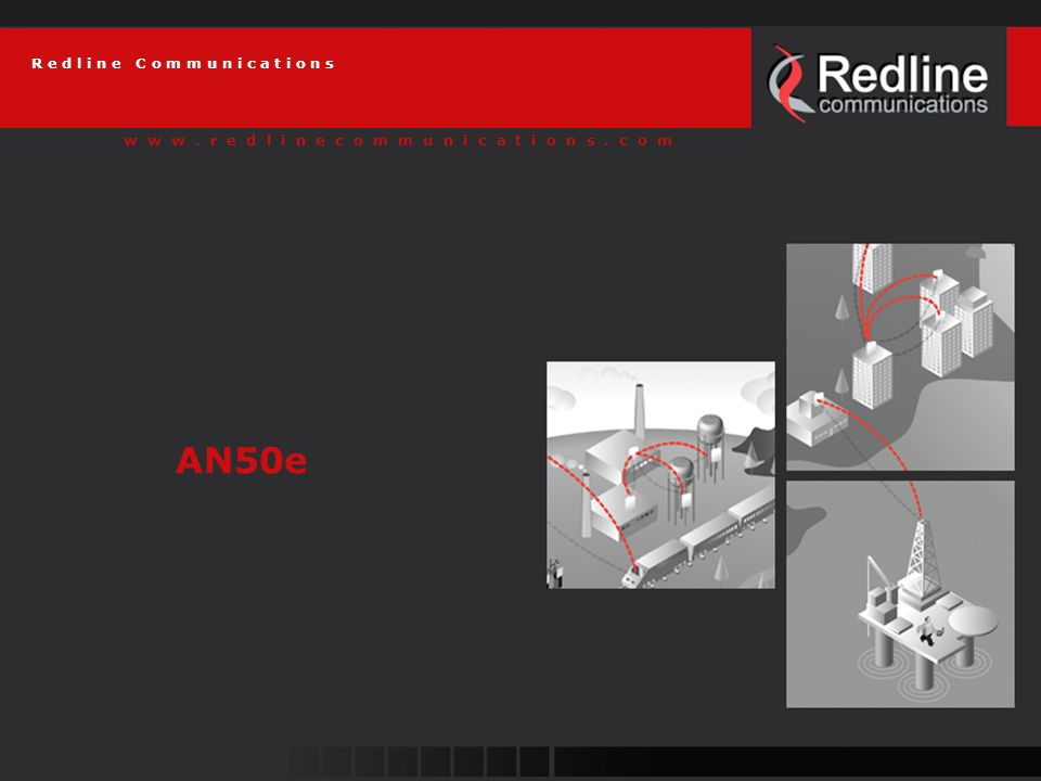 13 Redline Communications AN-50e Physical Layer (PHY) Multi-carrier transmission technique Conventional telecom is single carrier AN-50/AN-30 use 64 carrier OFDM 48 is used to carry data Combats multi-path distortion effectively Minimizes frequency selective fading (FSF) Eliminates Inter-symbol Interference (ISI)
