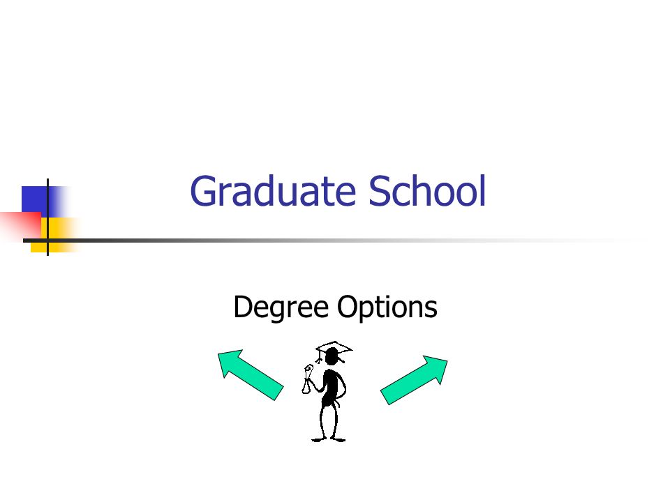 Graduate School Degree Options