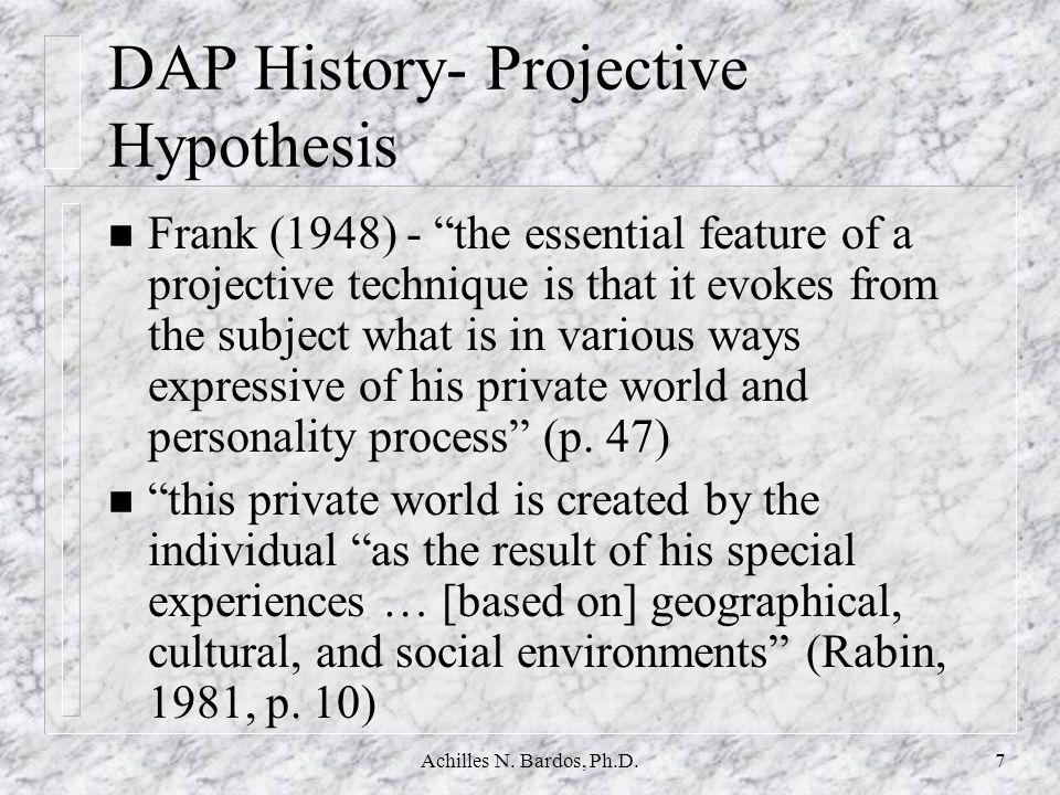 Achilles N.Bardos, Ph.D.27 DAP:SPED Validity n Naglieri, & Pfeiffer, S.