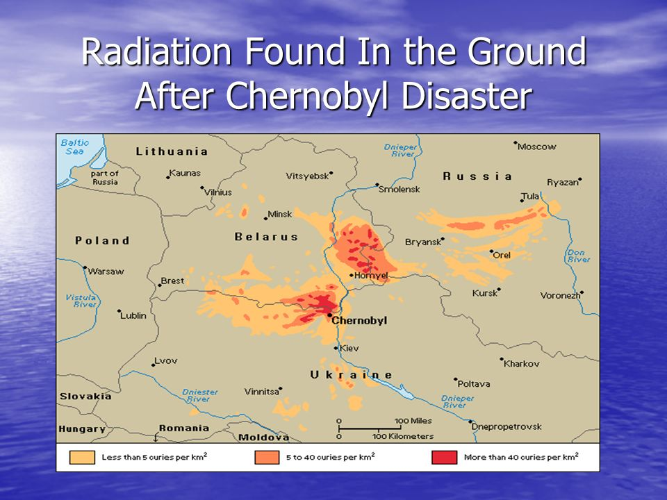 Radiation Found In the Ground After Chernobyl Disaster